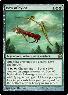 In Magic: The Gathering, what are the best cards to have for an mono