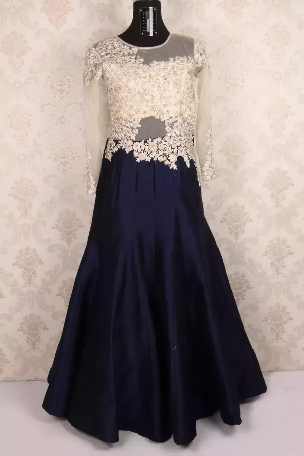 What are the best colour combinations for a gown for wedding (ball ...