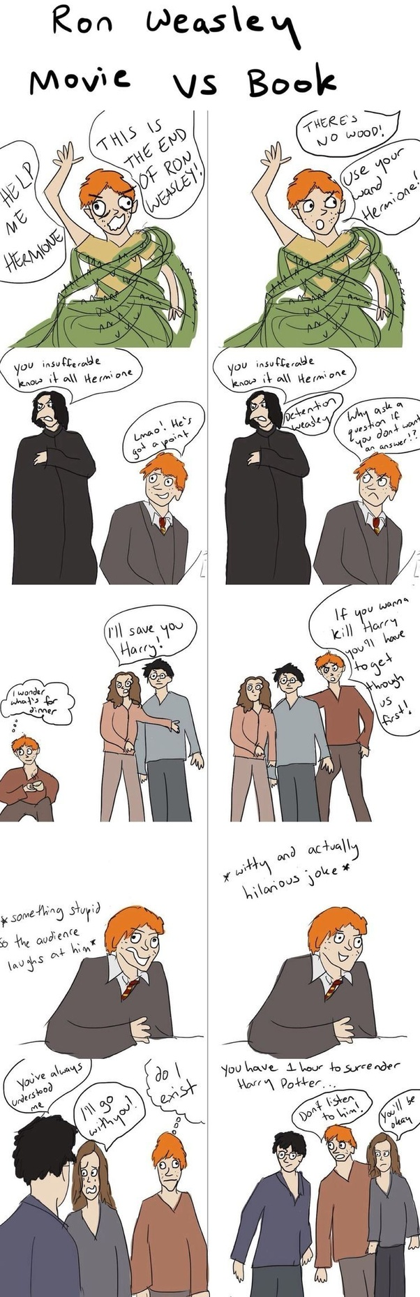 Why do fans bash the Weasleys but not Hermione? - Quora