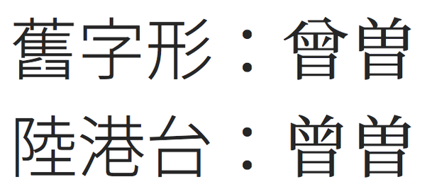 Does Taiwan use 說 as the official form of the character
