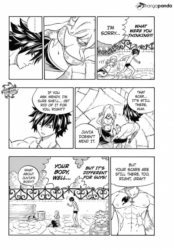 When does Gray get feelings for Juvia in Fairy Tail? - Quora