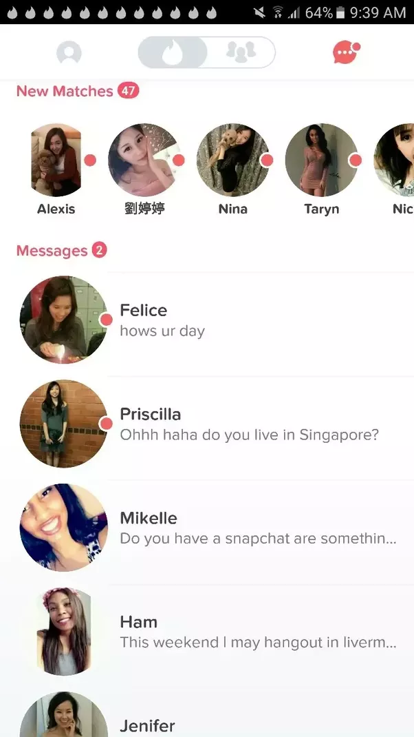 Maximum tinder matches