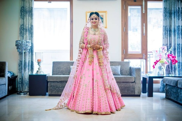 57f57f520c Which is the best color for lehenga in wedding? - Quora