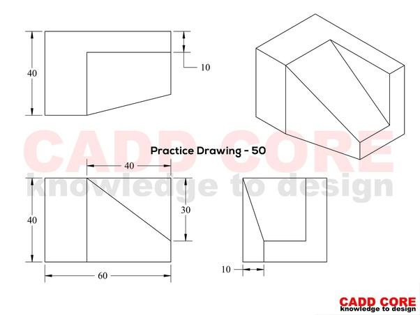 What are the best practices for drawing in AutoCAD? - Quora