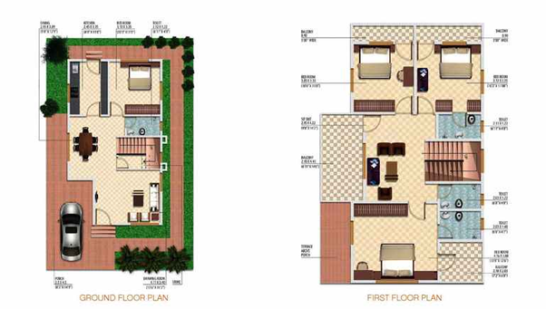 What Are Some Good Layout Of A 4 Bhk Home Quora