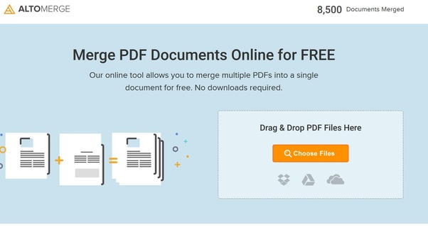 Files for to merge pdf how