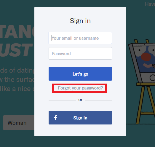 Okcupid login and password
