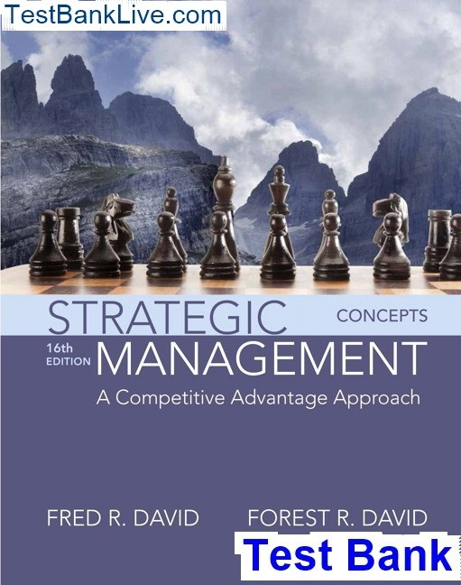 Where Can I Get Strategic Management A Competitive Advantage