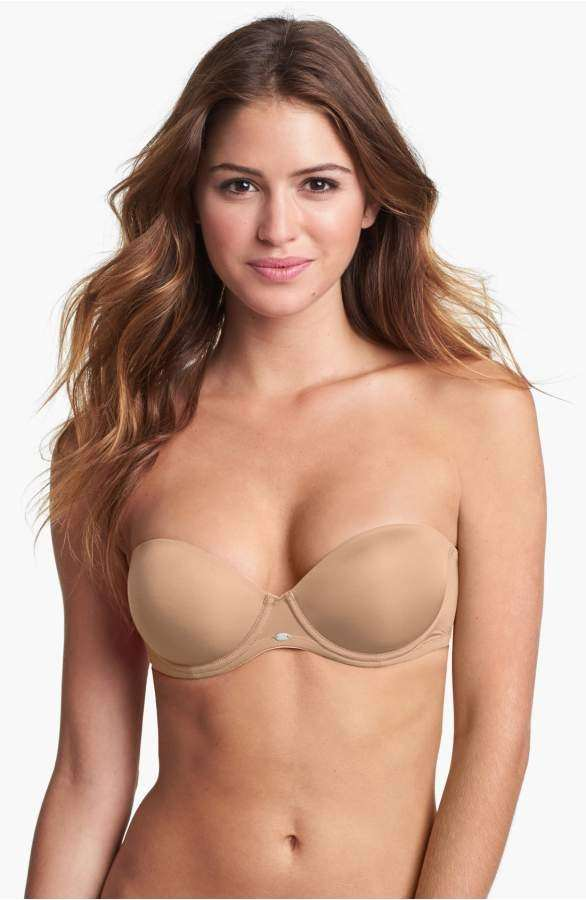 What is the best strapless push-up bra for a small bust? My wedding ...