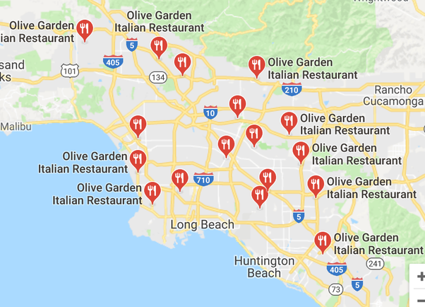 why are there no olive garden locations in hawaii quora - Olive Garden Francise