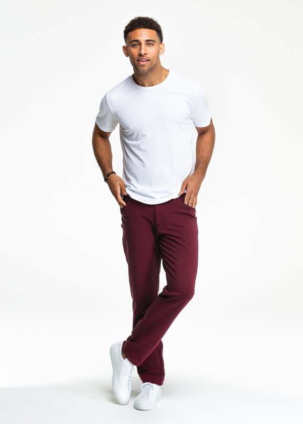 To wear with pants what maroon What color