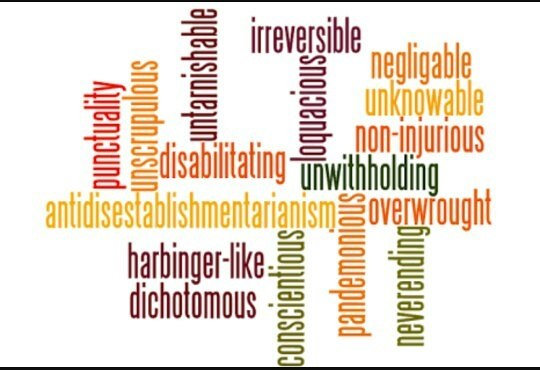 What do you think of people who use 'big words' in ...  What do you thi...