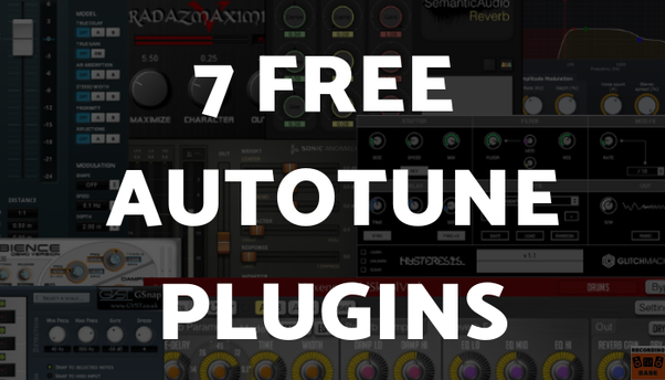Which is the best free autotune software available for PC? - Quora