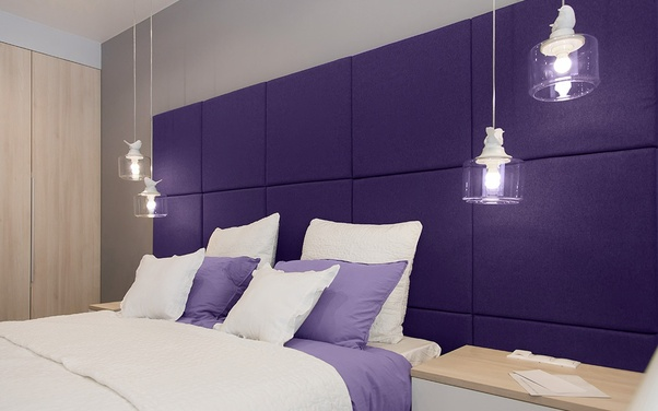 Is purple a good colour for a bedroom? - Quora