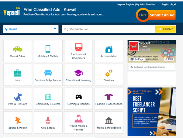 What are the top 10 classified websites in Kuwait? - Quora