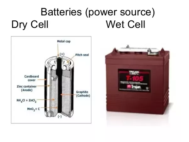 What Is The Difference Between Dry Cell And Wet Cell Batteries Quora