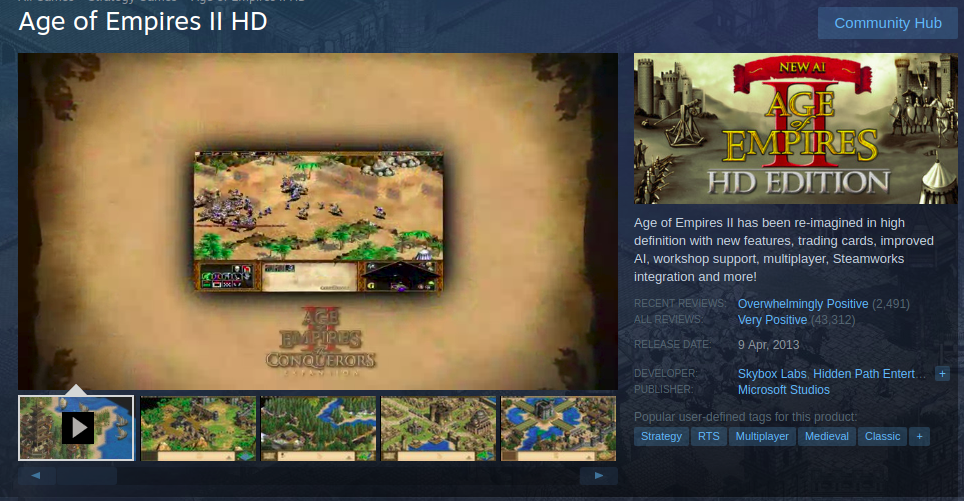 age of empires 2 the conquerors hd edition download