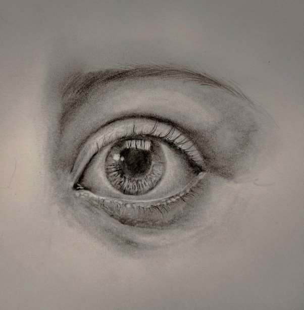 How To Draw Realistic Eyes Quora