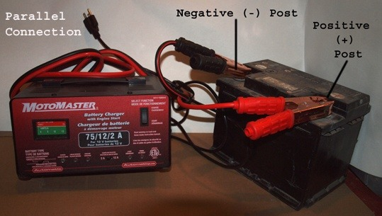 Correct Way To Attach A Charger To A Car Battery