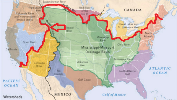 Is it possible to cross the contiguous United States (say, San Diego ...