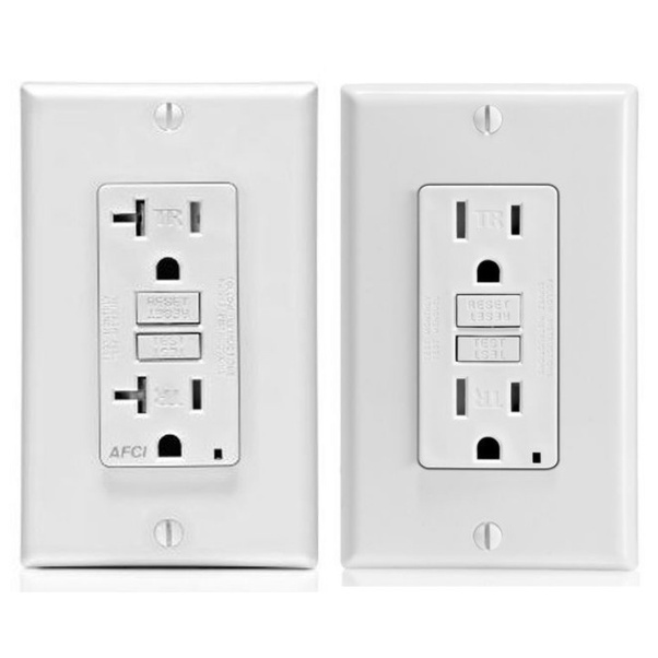 15 Amp And A 20 Outlet