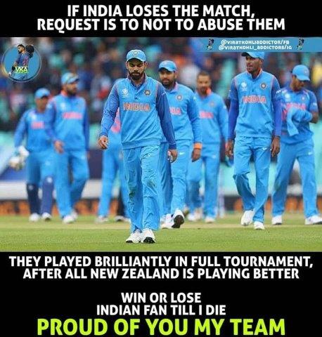What Is Your Whatsapp Status Filled With After India Losing