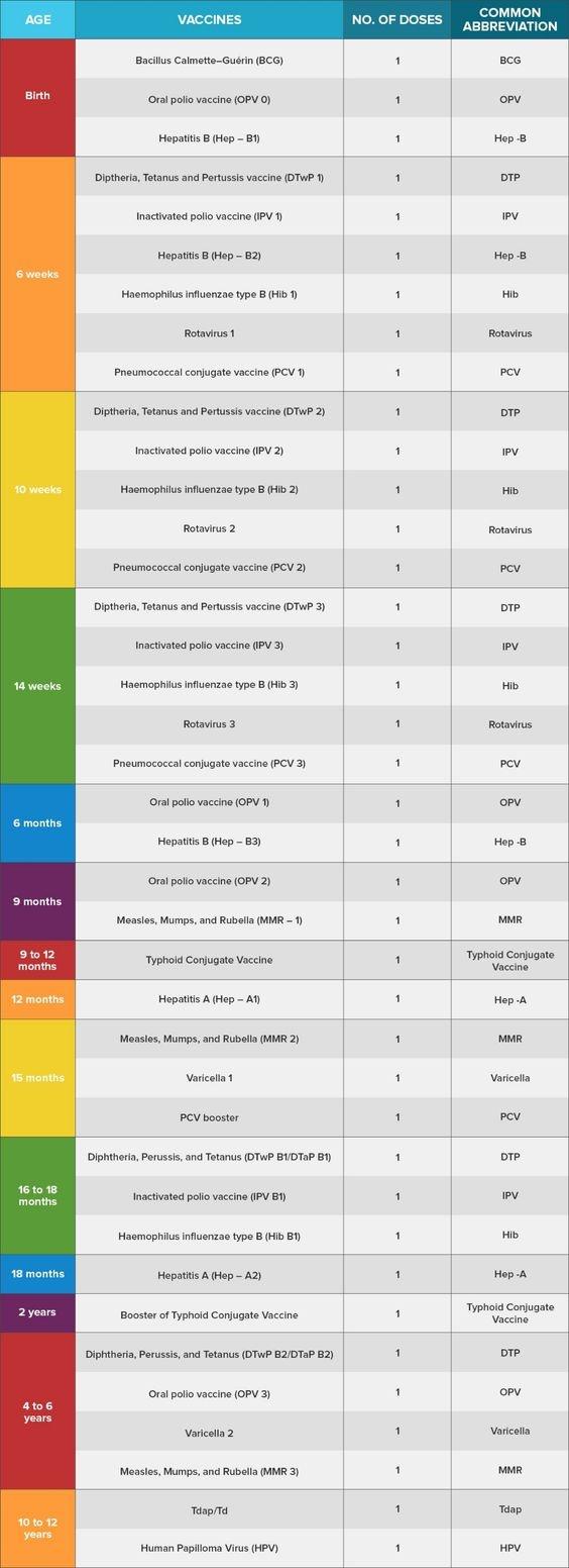 Newborn Baby Vaccination Chart With Price In India Newborn Baby