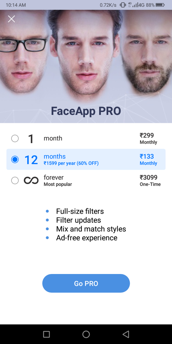 How much does it cost to use FaceApp? - Quora