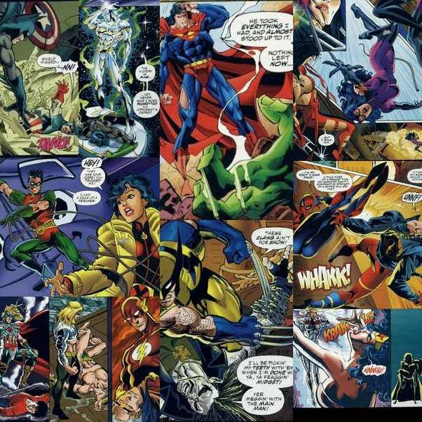 Have The Dc Hero S Ever Met The Marvel Heroes Quora This is my first picture from my fancomic. dc hero s ever met the marvel heroes