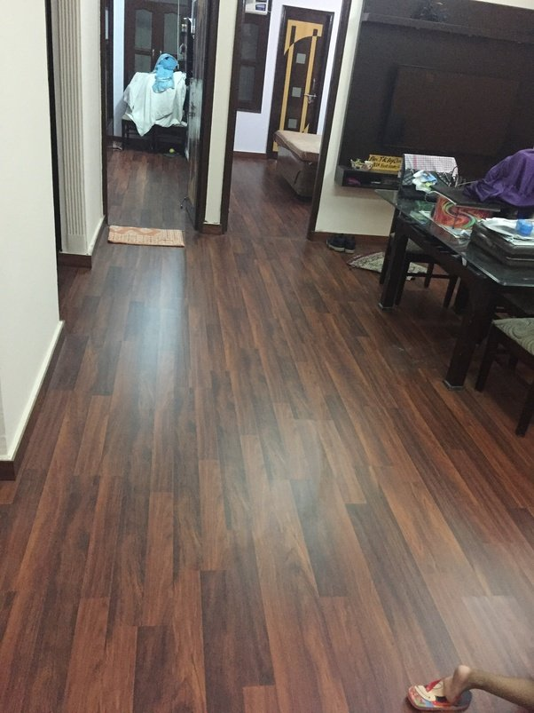 You Can From The Various Options Available In Market As Per Your Choice Of Shade Matching Interiors And Budget Laminate Wooden Flooring