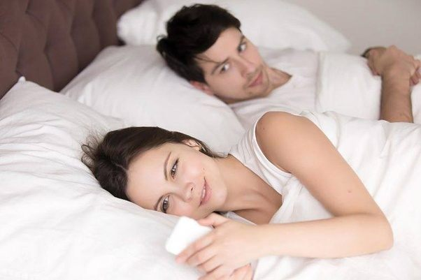 Is my girlfriend cheating on me with a woman