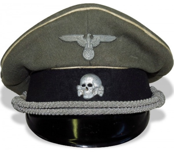 What insignia did the Nazi SS wear on their caps? - Quora