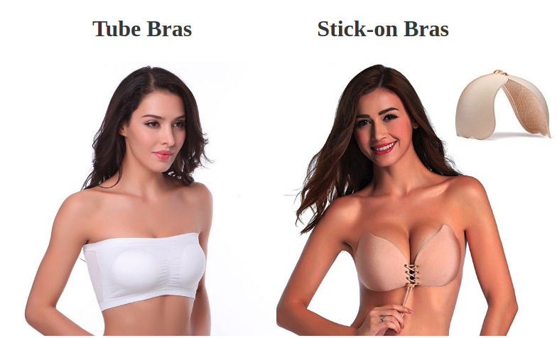 82b8d33398 Women who aren t comfortable wearing a strapless bra would prefer  transparent bras as an alternative. These bras come with transparent straps  around the ...
