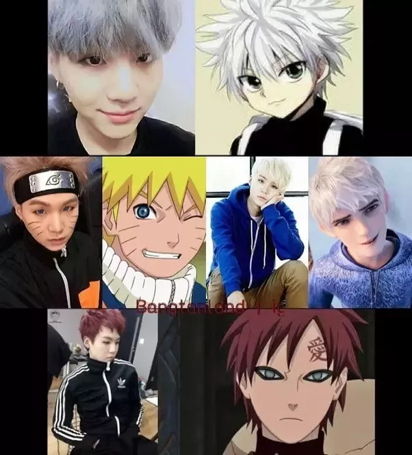 In Which Manga Comic Do The Characters Look Like BTS