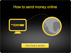 can you send money from credit card through western union