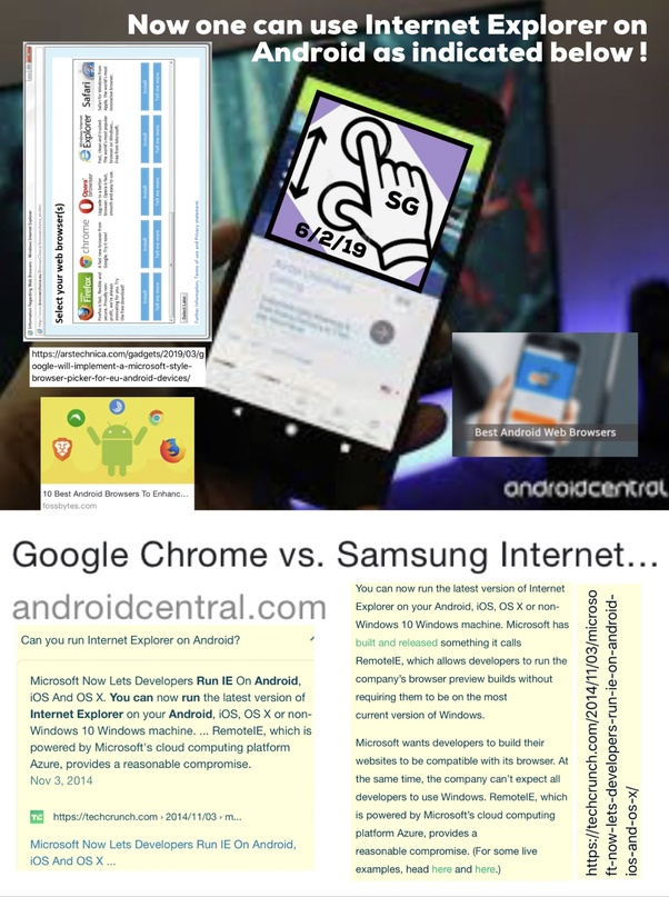 How to use Internet Explorer on Android - Quora