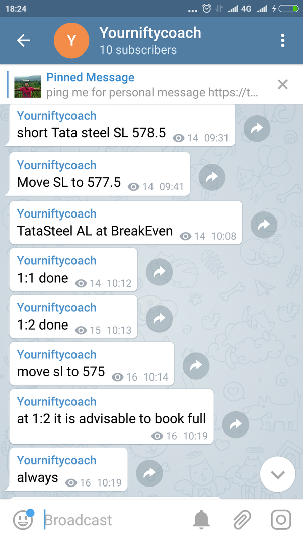 The best: the trading channel telegram
