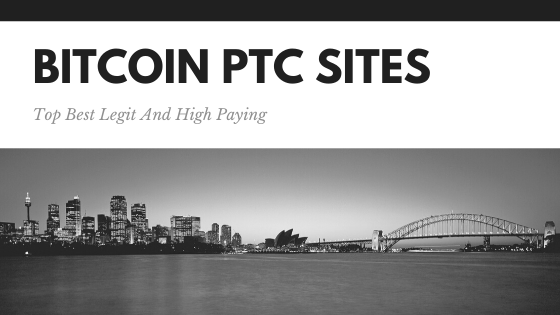 top 10 bitcoin earning sites