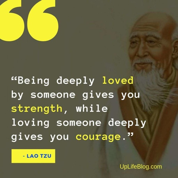 Apa Kata Kata Yang Paling Anda Sukai Dari Lao Tzu Quora