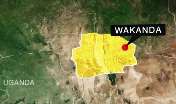Where is Marvel's Wakanda located in Africa, and what