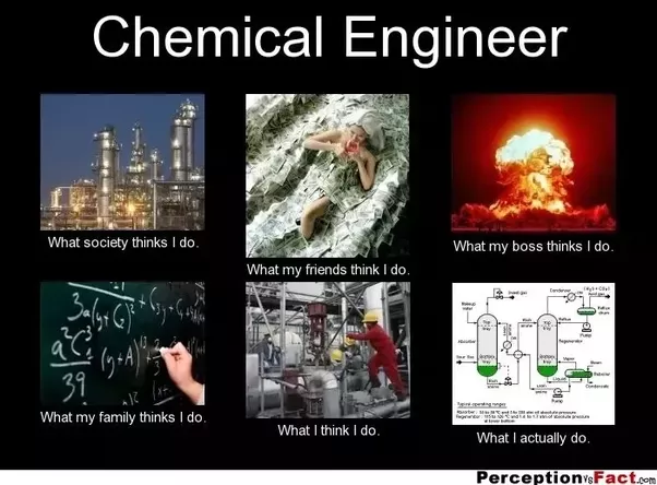chemical engineer gets to learn a bit of all the branches so the flexibility to choose the from a broad domain
