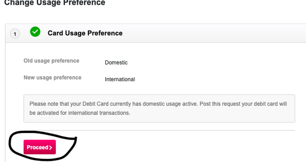 How to activate an Axis Bank debit card for international use - Quora