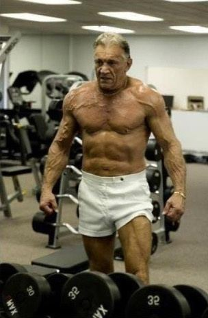 is it possible to build muscle at 45 or am i wasting my