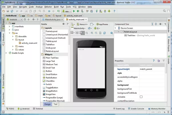 Im new to android studio sometimes when i start a new project i although there looks like a lot to master in android studios ui most of it you will only visit occasionally the key things to notice are that moving from malvernweather Image collections