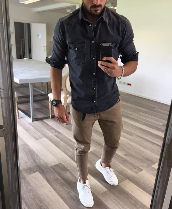 Also Wearing A Cropped Pant Or Cuffing The Pants Adds Nice And Modern Style To Look If You Do Go For Cuff Wear No Show Sock