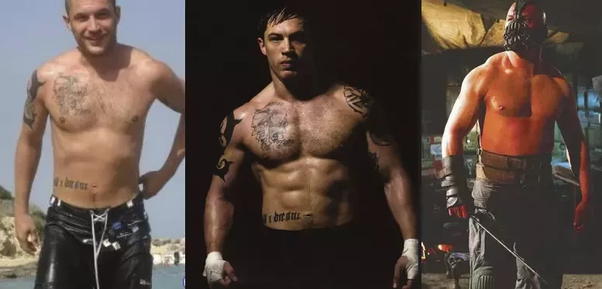 How Did Tom Hardy Gain 30 Pounds Of Muscle In The Dark Knight Rises Quora