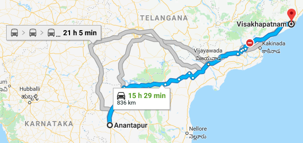 The cost of shifting AP secretariat from Amaravathi to Vizag