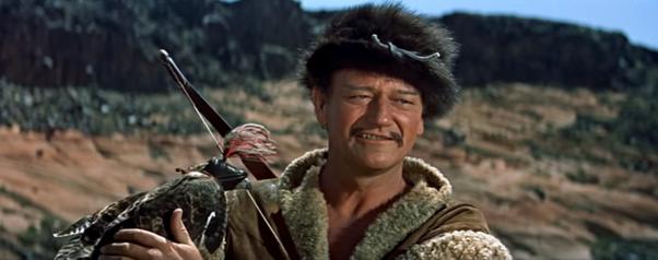 john wayne genghis khan movie