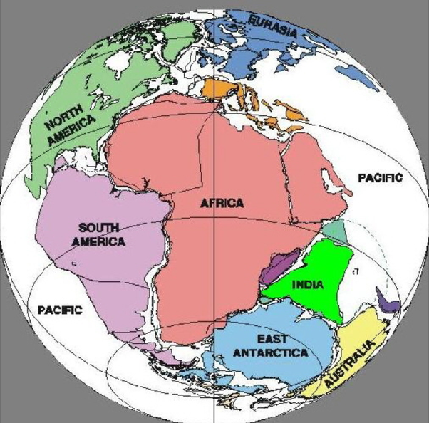 Concept Map Of Continental Drift.Why Was The Continental Drift Theory Of Alfred Wegener Rejected Quora