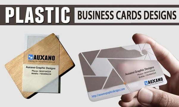 What are some unique business card ideas quora formink plastic cards use 100 pure pvc and come standard with rounded corners choose single color to full color printing on our opaque or frosty reheart